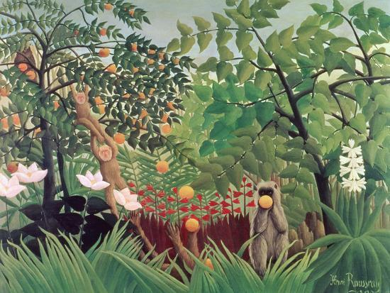 Exotic Landscape 1910 Giclee Print By Henri Rousseau At