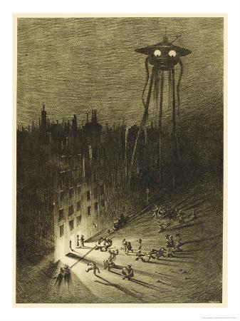 henrique-alvim-correa-the-war-of-the-worlds-a-martian-machine-contemplates-the-drunken-crowd