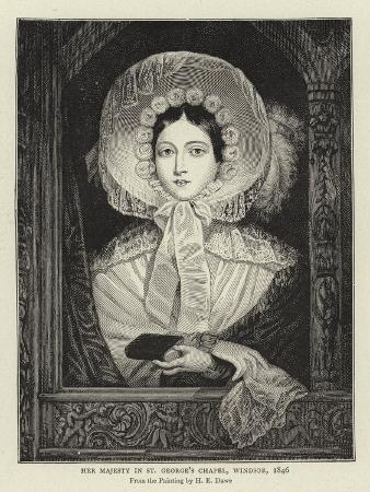 henry-dawe-her-majesty-in-st-george-s-chapel-windsor-1846