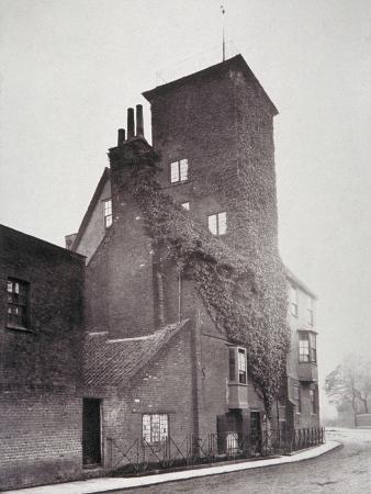 henry-dixon-view-of-canonbury-house-islington-london-1879