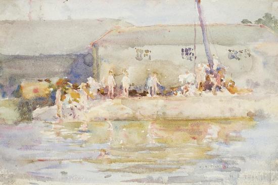henry-scott-tuke-quay-scamps-1896