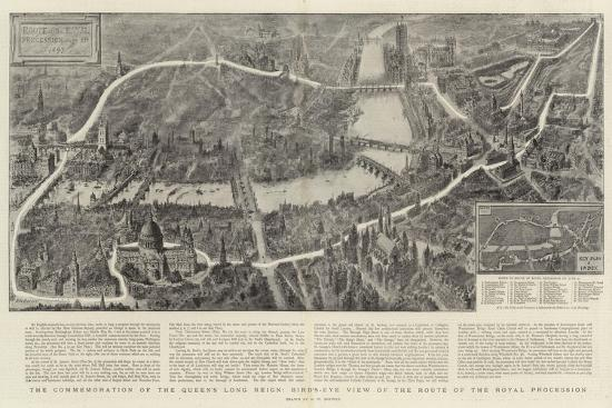 henry-william-brewer-the-commemoration-of-the-queen-s-long-reign-bird-s-eye-view-of-the-route-of-the-royal-procession