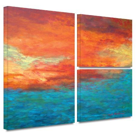 herb-dickinson-lake-reflections-ii-gallery-wrapped-canvas