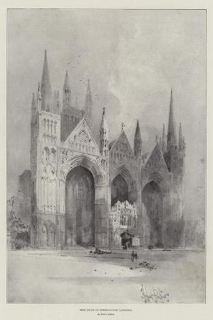 herbert-railton-west-front-of-peterborough-cathedral