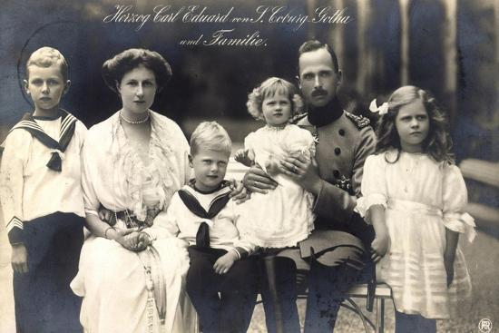 herzog-carl-eduard-von-sachsen-coburg-gotha-familie
