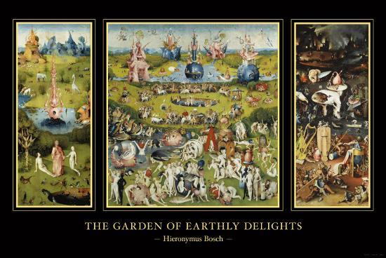 The Garden Of Earthly Delights Art Print By Hieronymus Bosch At