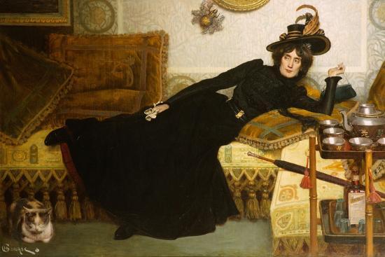 hippolyte-casimir-gourse-a-elegant-lady