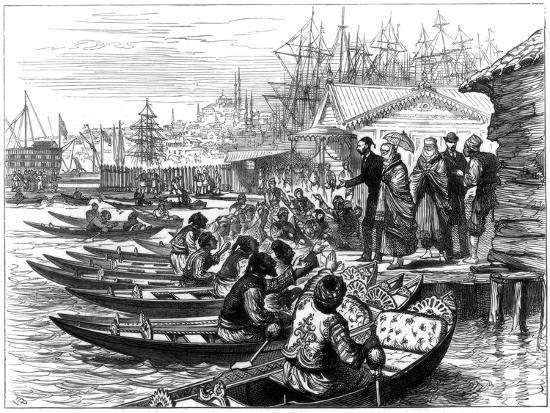hiring-a-caique-constantinople-1877