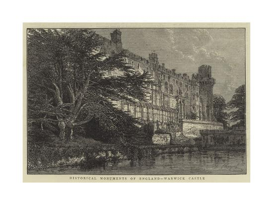 historical-monuments-of-england-warwick-castle