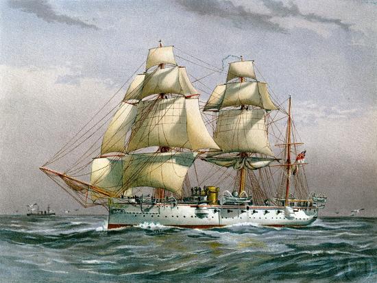 hms-calliope-royal-navy-3rd-class-cruiser-c1890-c1893