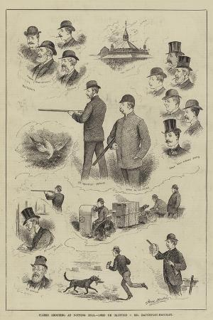 horace-morehen-pigeon-shooting-at-notting-hill-lord-de-clifford-v-mr-davenport-handley