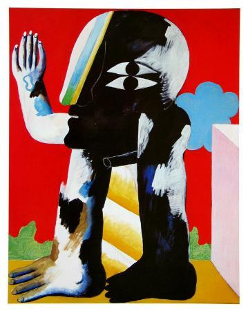 horst-antes-figure-black-and-white-c-1967