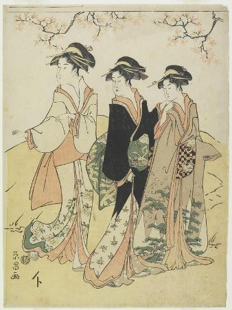hosoda-eisho-three-courtesans-under-cherry-tree-c-1790s