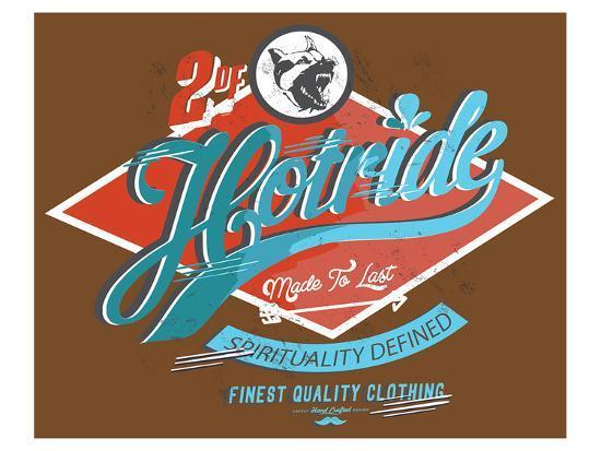 hotride-retro-race-poster