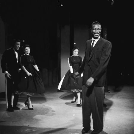 howard-morehead-nat-king-cole-on-set-of-his-television-show