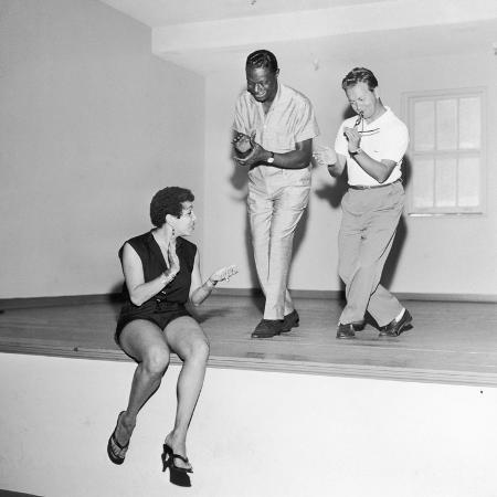 howard-morehead-nat-king-cole-rehearses-with-marie-bryant-and-mel-torme-july-1959