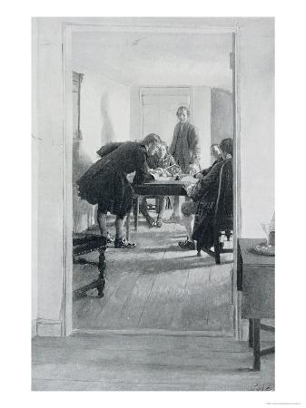 howard-pyle-in-the-old-raleigh-tavern-illustration-from-at-home-in-virginia-by-woodrow-wilson
