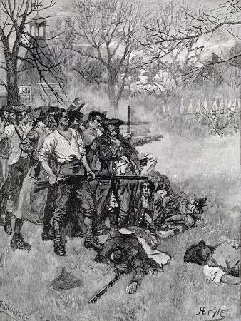 howard-pyle-lexington-green-harper-s-magazine-c-1883