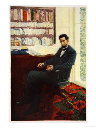 howard-pyle-portrait-of-abraham-lincoln