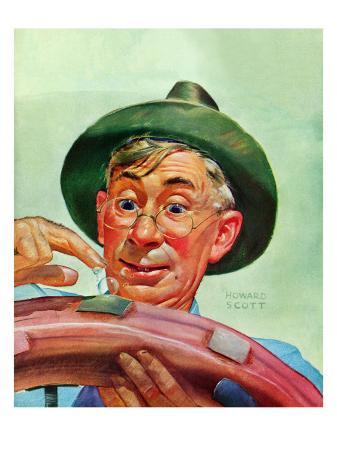 howard-scott-patching-a-tire-december-5-1942