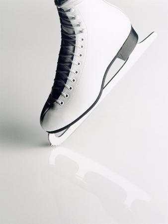 howard-sokol-black-and-white-image-of-figure-skater-s-skate