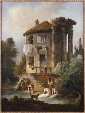hubert-robert-washerwomen-outside-the-temple-of-the-sibyl-tivoli