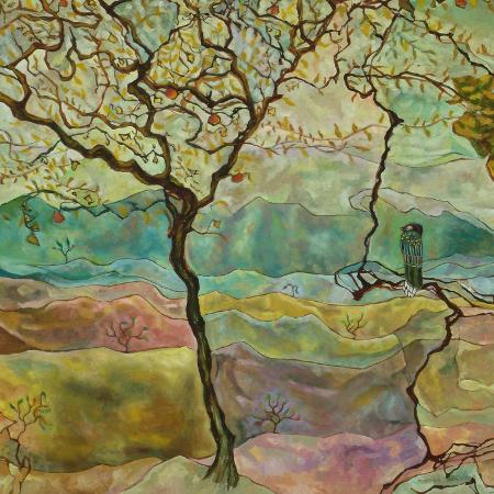 hyunah-kim-tree-and-a-bird
