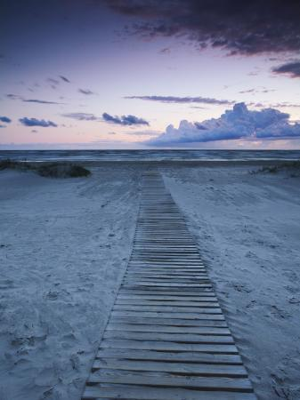 ian-trower-beach-at-dusk-liepaja-latvia