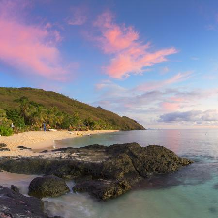ian-trower-beach-at-octopus-resort-at-sunset-waya-island-yasawa-islands-fiji