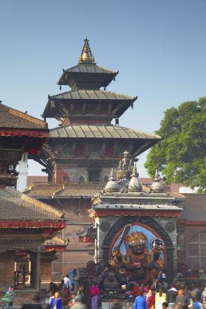ian-trower-durbar-square-unesco-world-heritage-site-kathmandu-nepal-asia