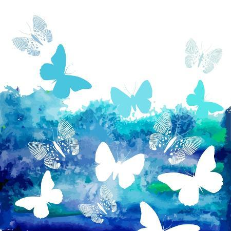 ihnatovich-maryia-watercolor-blue-background-with-butterflies-vector
