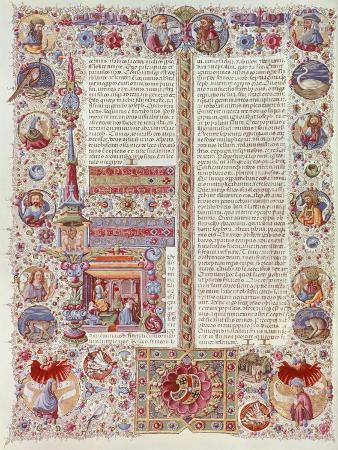 illuminated-page-by-taddeo-crivelli-from-the-bible-of-borso-d-este-manuscript