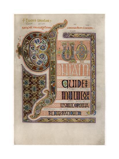 Illuminated Text of the Gospel of Saint Luke from the ...