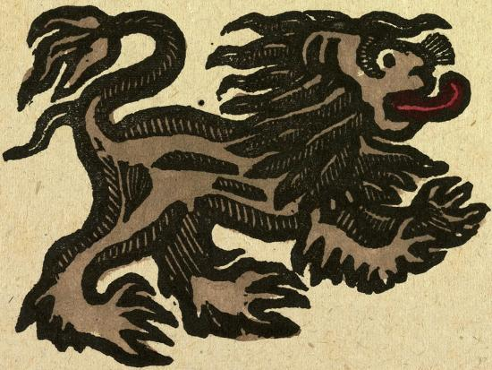 illustration-of-english-tales-folk-tales-and-ballads-lion