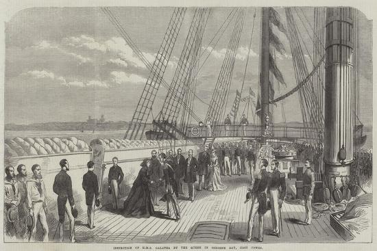 inspection-of-hms-galatea-by-the-queen-in-osborne-bay-east-cowes