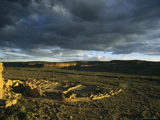 ira-block-twilight-view-of-the-anasazi-ruins-at-pueblo-bonito