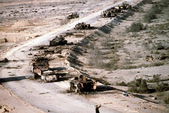 iraqi-armored-column-during-operation-desert-storm-mar-4-1991