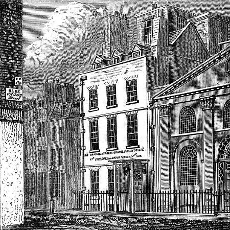 isaac-newton-s-house-st-martin-s-street-leicester-square-london-c1850