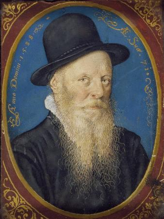 isaac-oliver-elderly-man-in-a-black-hat-1588