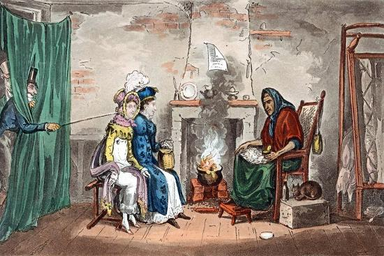 isaac-robert-cruikshank-a-visit-to-a-fortune-teller-early-19th-century