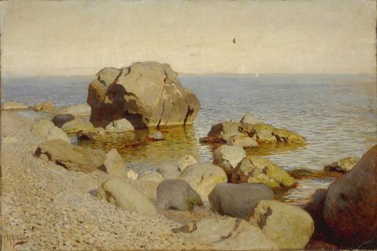 isaak-ilyich-levitan-seashore-the-crimea-1886