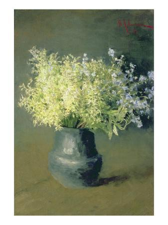 isaak-ilyich-levitan-wild-lilacs-and-forget-me-nots-1889