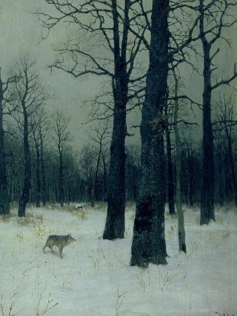 isaak-ilyich-levitan-wood-in-winter-1885