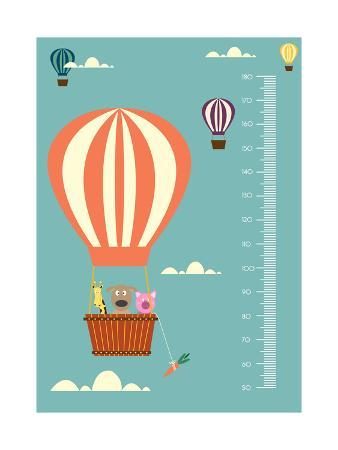 isaree-balloon-cartoons-meter-wall-or-height-meter-from-50-to-180-centimeter-vector-illustrations