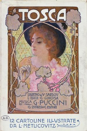 italian-school-title-page-of-score-sheet-for-the-opera-tosca-by-puccini-c-1910