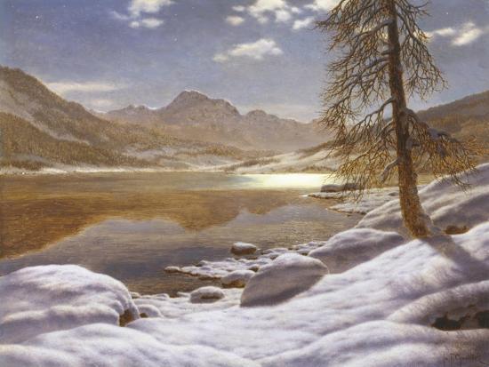 ivan-fedorovich-choultse-moonlit-lake