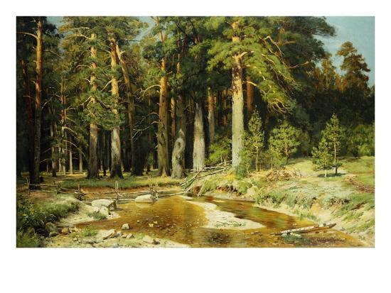 ivan-ivanovitch-shishkin-the-mast-tree-grove-study