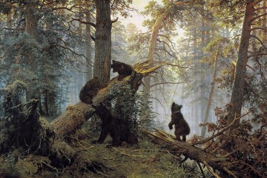 ivan-shishkin-morning-in-a-pinewood-1889