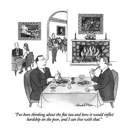 j-b-handelsman-i-ve-been-thinking-about-the-flat-tax-and-how-it-would-inflict-hardship-o-new-yorker-cartoon