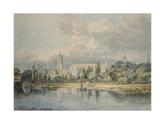 j-m-w-turner-south-view-of-christ-church-from-the-meadows-19th-century